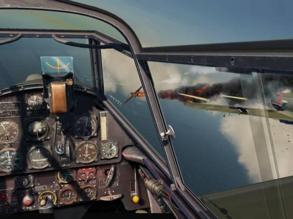Скриншоты из игры IL-2 Sturmovik: Cliffs of Dover.
