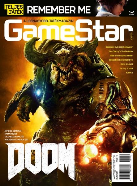 GameStar februári borító